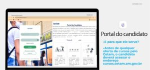 Confira o tutorial para cadastro no Portal do candidato e ganhe tempo nas inscrições